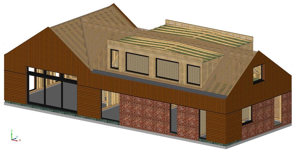 Maison basse énergie  Nord (59)  Hem  Bati Bois Concept  ~ Bois Energie Nord