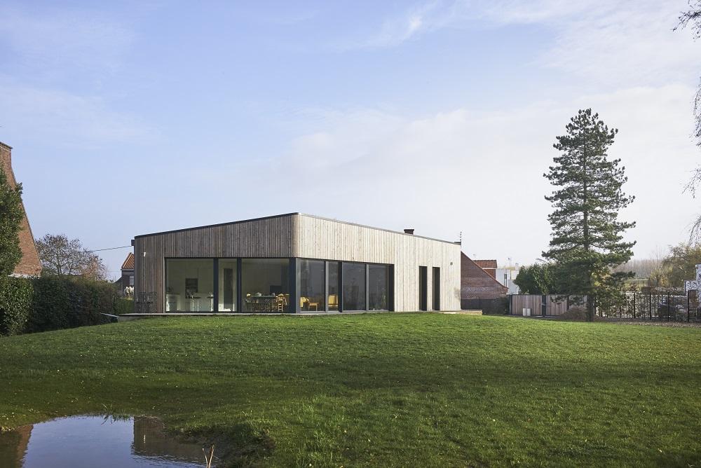 Maison passive nord 59 m rignies bati bois concept for Agrandissement maison architecte ou pas