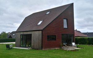 Maison basse énergie – Belgique – Herseaux