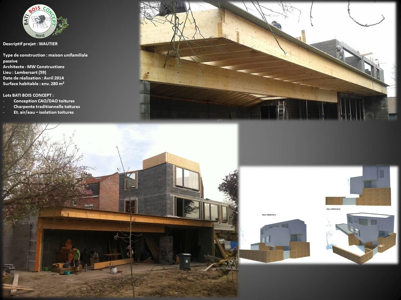 Bati bois concept nord constructeur de maisons passives en bois for Maison passive bois