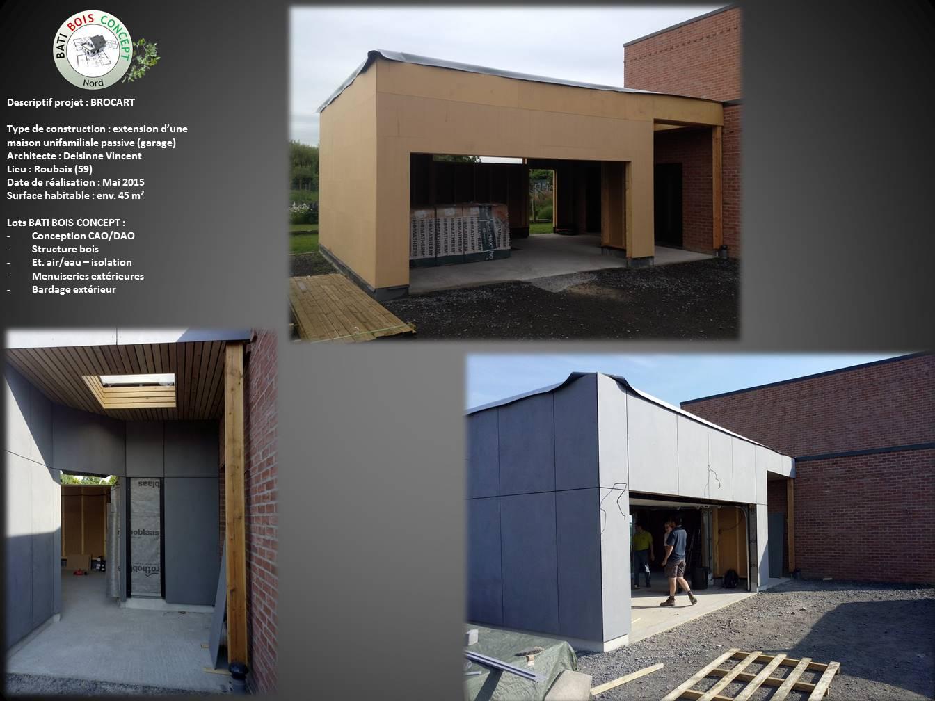 Agrandissement maison cube bois maison moderne for Agrandissement maison 59